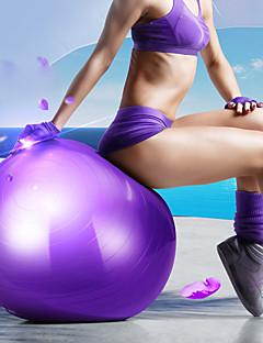 billige Motion, fitness og yoga-55 cm Træningsbold / Fitness bold Professionel, Eksplosionssikker PVC Support 500 kg Med Fodpumpe Balance træning Til Yoga / Pilates / Fitness