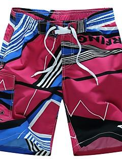billige Herremote og klær-Herre Rett Chinos Bukser - Trykt mønster, Geometrisk