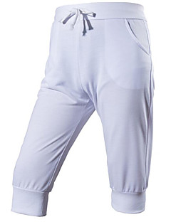 billige Herrebukser og -shorts-Herre Enkel Shorts Bukser Ensfarget