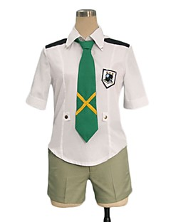 """billige Anime Kostymer-Inspirert av Programmene Frontier Cosplay Anime  """"Cosplay-kostymer"""" Cosplay Klær Annen Kortermet Trøye / Shorts / Slips Til Herre / Dame Halloween-kostymer"""