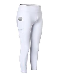 billige Løbetøj-Yogabukser 3/4 Tights Hurtig Tørre Alm. taljede Høj Elasticitet Sportstøj Dame FORSINING Yoga Træning & Fitness Træningscenter Løb