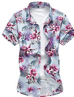 billige Herre Toppe-Herre - Geometrisk Klassisk Stil Skjorte