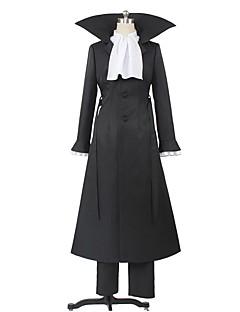 """billige Anime cosplay-Inspirert av Bungo Stray Dogs Cosplay Anime  """"Cosplay-kostymer"""" Cosplay Klær Annen Langermet Frakk / Genser / Bukser Til Herre / Dame Halloween-kostymer"""
