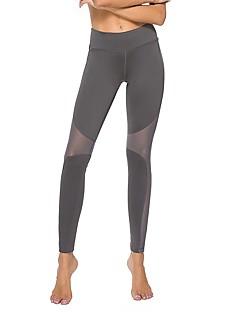 billige Løbetøj-Yogabukser Leggins Tights Yoga & Danse Sko Hurtig Tørre Alm. taljede Høj Elasticitet Sportstøj Dame Yoga Træning & Fitness Dans