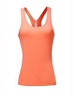 Χαμηλού Κόστους Αθλητικά ρούχα-BARBOK Γυναικεία Πράσινο, Μπλε, Ροζ Αθλητισμός Μονόχρωμο Αμάνικη Μπλούζα / Μπολύζες Αμάνικο Ρούχα Γυμναστικής Περπάτημα, Γιόγκα, Γρήγορο