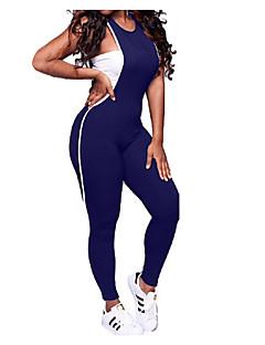 billige Jumpsuits og sparkebukser til damer-Dame Fritid Bomull Body - Ensfarget, Blondér