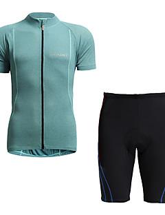billige Sett med sykkeltrøyer og shorts/bukser-Jaggad Kortermet Sykkeljersey med shorts - Blå / Svart Sykkel