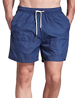 billige Løbetøj-Herre Split short til jogging og løb Åndbarhed Shorts Træning & Fitness Nylon Blå / Rød / Hvid / Mørk Navy L / XL / XXL