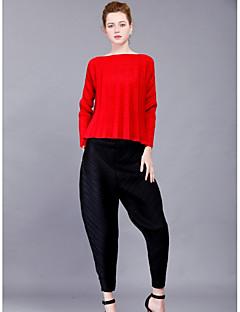 billige T-shirt-Dame - Ensfarvet Aktiv Basale T-shirt