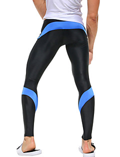 cheap Fitness Clothing-Men's Gym Leggings Running Tights Quick Dry High Breathability (>15,001g) Breathable Lightweight Materials Compression Tights Bottoms