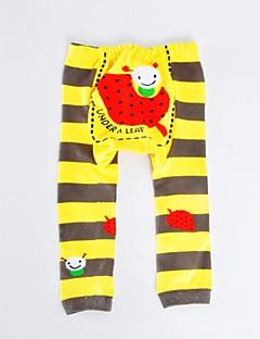 tanie Odzież dla dziewczynek-Spodnie Bawełna Poliester Dla dziewczynek Codzienny Urlop Groszki Prążki Wzór zwierzęcy Wiosna Jesień Długi rękaw Aktywny Niebieski