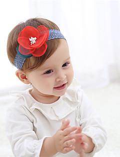 billige Tilbehør-Pige Hår Tilbehør Alle årstider - Blondelukning - Pandebånd - Rød