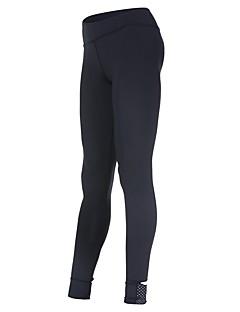 billiga Träning-, jogging- och yogakläder-Dam Tights för jogging - Svart sporter Enfärgad Cykling Tights / Leggings Yoga, Fitness, Gym Sportkläder Snabb tork