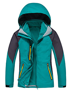 cheap Softshell, Fleece & Hiking Jackets-Women's Ski Jacket Outdoor Winter Waterproof Thermal / Warm Quick Dry Windproof Ultraviolet Resistant Anti-Eradiation Breathable
