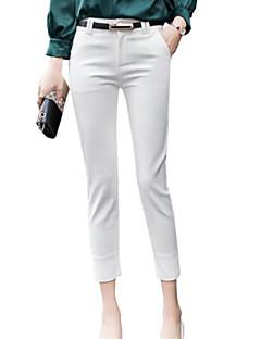 ieftine Pantaloni-Pentru femei De Bază Mărime Plus Size Costume Pantaloni Mată
