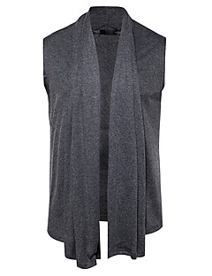 baratos Suéteres & Cardigans Masculinos-Homens Activo Carregam - Sólido