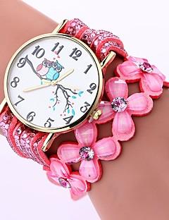 billige Armbåndsure-Dame Quartz Armbåndsur Kinesisk Afslappet Ur PU Bånd Afslappet Mode Sort Hvid Blåt Brun Pink Lilla Fuchsia Marine Himmelblå