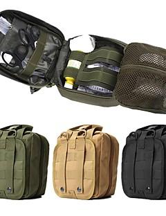 זול תיקי גב ותיקים-10L תיק מותניים - לביש צעידה, קמפינג, Emergency ניילון שחור, ירוק, חאקי