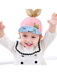 tanie Akcesoria dla dzieci-Kapelusze i czapki - Dla obu płci - Wiosna Jesień - Bawełna Rayon Gold Czerwony Blushing Pink Light Blue Granatowy