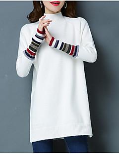 baratos Suéteres de Mulher-Mulheres Camisa Social Activo Sólido