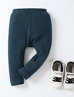 billige Babyunderdele-baby daglig solid farvede bukser, polyester forår sommer gade chic hær grøn rød rød 70 80 110 100 90
