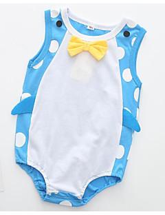 billige Babytøj-Baby Unisex Trykt mønster Uden ærmer Bodysuit