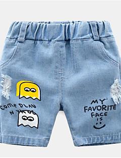 billige Bukser og leggings til piger-Børn / Baby Unisex Trykt mønster Jeans