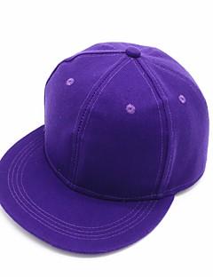billige Trendy hatter-Dame Aktiv Bowlerhatter - Drapering, Ensfarget Polyester