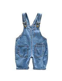 billige Babyunderdele-Baby Pige Aktiv Ensfarvet Bukser