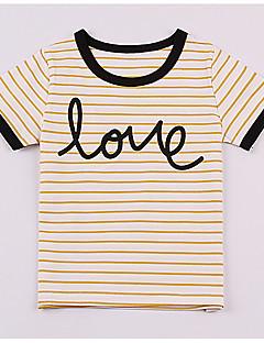 billige Overdele til drenge-Baby Drenge Stribet Kortærmet T-shirt