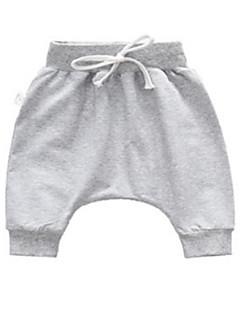 billige Babyunderdele-Baby Unisex Basale Ensfarvet Bukser / Basale / Baby