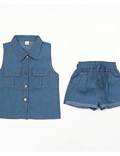 billige Tøjsæt til drenge-Børn Drenge Geometrisk Uden ærmer Tøjsæt