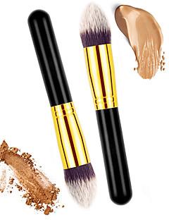 billiga Sminkborstar-2 Makeupborstar Professionell Rougeborste / Concealerborste / Puderborste Nylonborste / Syntetiskt Hår Miljövänlig / Professionell / Mjuk