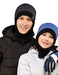 billige Clothing Accessories-VEPEAL Turcaps Skelett Caps Vindtett Hold Varm Vinter Lilla Unisex Vandring Klatring Ski Lapper Voksne / Fleece / Elastisk / Fleece