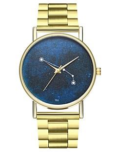 billige Modeure-Dame Kinesisk Kronograf Rustfrit stål Bånd Mode Guld