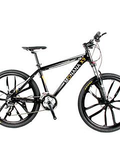 お買い得  サイクリング-マウンテンバイク サイクリング 27スピード 26 inch / 700CC SHIMANO M370 オイルディスクブレーキ スプリンガーフォーク モノコック 普通 アルミニウム合金 / #