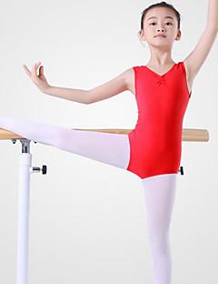 tanie Dziecięca odzież do tańca-Balet Leotards Damskie Szkolenie / Wydajność Bawełna Zgnioty Bez rękawów Naturalny Trykot opinający ciało / Śpiochy dla dorosłych