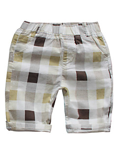 billige Drengebukser-Børn Drenge Ruder Shorts
