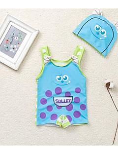 billige Badetøj til drenge-Baby Drenge Ensfarvet Stribet Badetøj