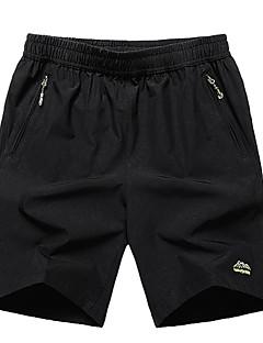 billige Herrebukser og -shorts-Herre Store størrelser Shorts Bukser Ensfarget