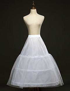 hesapli Gelinlik İçi-Düğün Özel Anlar Parti / Gece Slipler Naylon Tül Yer-uzunluğunda A-Line Alt Giyimi Klasik & Zamansız ile