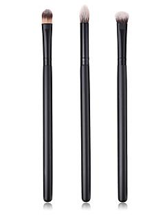 billiga Sminkborstar-3-Pack Makeupborstar Professionell Borstsatser Nylon fiber Miljövänlig / Mjuk Trä / Bambu