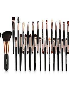 billiga Sminkborstar-Makeupborstar Professionell Borstsatser / Rougeborste / Ögonskuggsborste Nylon fiber Fullständig Täckning Trä / Bambu