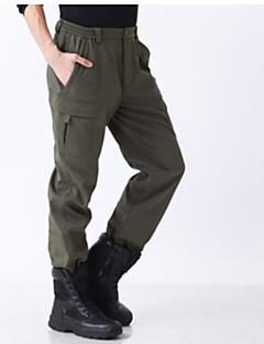 tanie Odzież turystyczna-Męskie Turistické kalhoty Na wolnym powietrzu Ochrona przed deszczem Zima Spodnie Ćwiczenia na zewnątrz