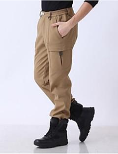 tanie Turystyczne spodnie i szorty-Męskie Spodnie turystyczne Na wolnym powietrzu Ochrona przed deszczem Jesień, Zima Spodnie Ćwiczenia na zewnątrz XL XXL XXXL