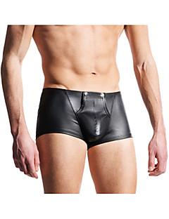 お買い得  メンズアンダーウェア&水着-男性用 ボクサー - ソリッド ローウエスト