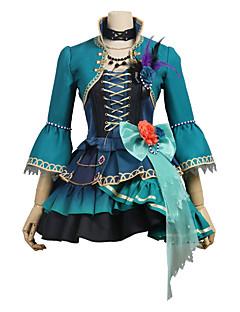 """billige Anime cosplay-Inspirert av BanG Dream Cosplay Anime  """"Cosplay-kostymer"""" Cosplay Klær Annen 3/4 ermer Frakk / Skjørte / Kjole Til Unisex"""