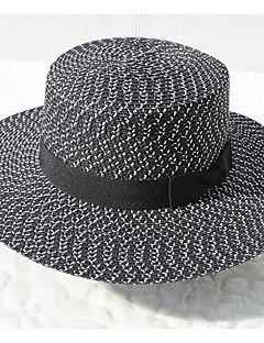 billige Trendy hatter-Unisex Grunnleggende Fedora Geometrisk