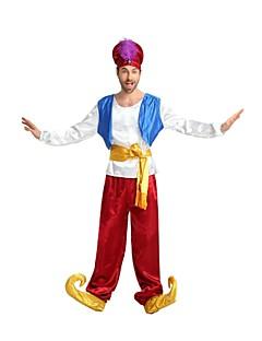 billige Voksenkostymer-Pirates of the Caribbean Kostume Herre Halloween / Karneval / Barnas Dag Festival / høytid Halloween-kostymer Hvit Ensfarget / Halloween Halloween