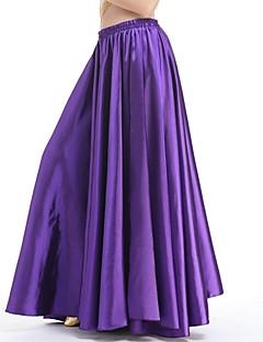 tanie Stroje balowe-Taniec balowy Doły Damskie Wydajność Spandeks Marszcząca się Naturalny Spódnice